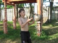 Тренировки с гирей