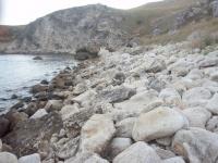 Берег горы Опук