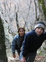 Подъем на Орлиные скалы