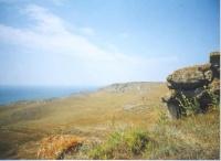 Море. Вид с вершины Апука