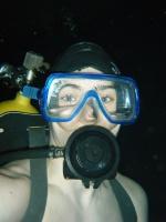Вова с аквалангом