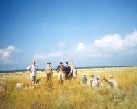 Установка лагеря