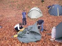 Очень сложная палатка