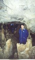 Сфотографировались в пещере