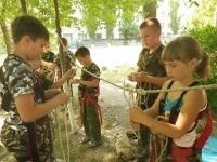 Учимся вязать узлы