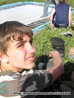 Андрей Д. около батута