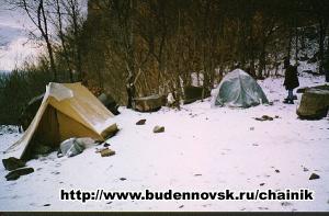 Лагерь (подножье г.Острая)