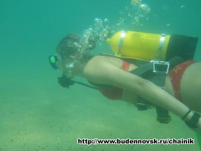 Лиза под Водой